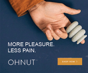 OhNut for more satisfying and less painful sex