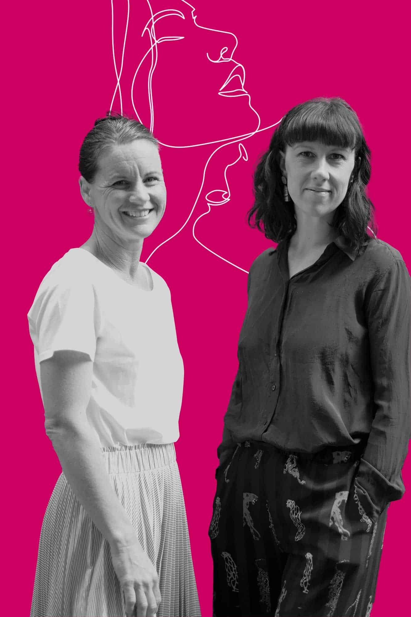 The Good Bits founders Siobhan Fitzgerald and Carol Battle